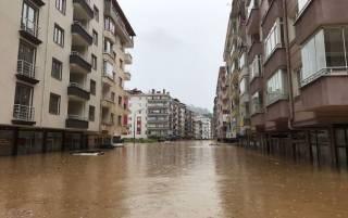 Во Францию пришла большая вода. Люди спасаются, забираясь на крыши домов