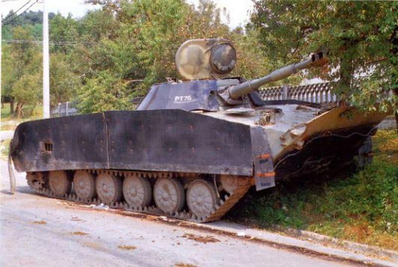 Танки ПТ-76