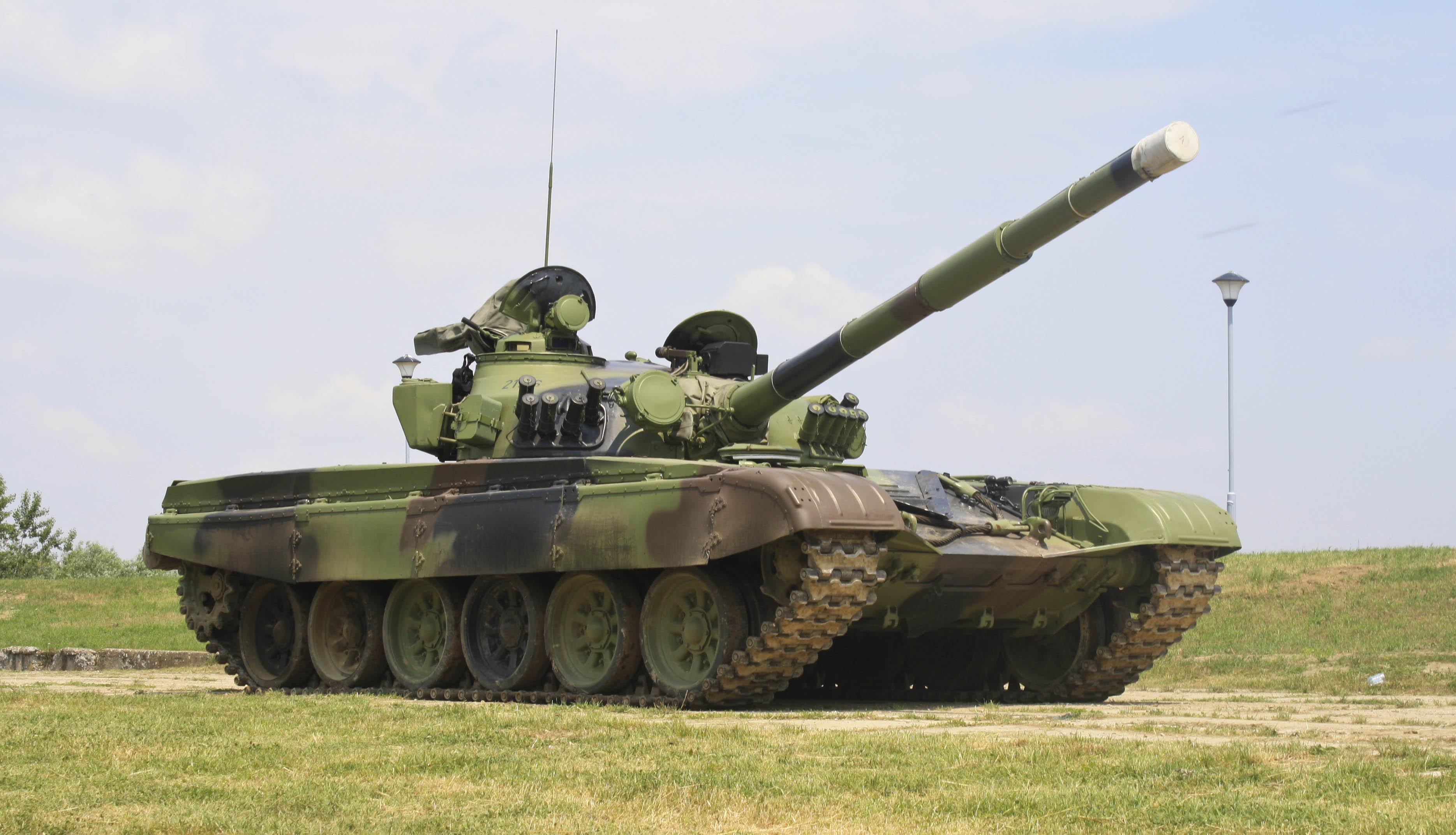 танк Т-72 - М-84