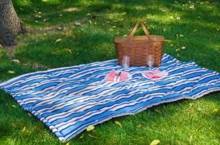 Как сшить стеганый коврик для пикника