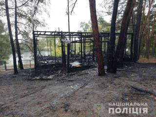 На Харьковщине на базе отдыха вспыхнул дом, переполненный людьми. Есть пострадавшие