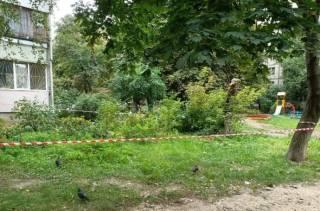 В Киеве на детской площадке зарезали женщину