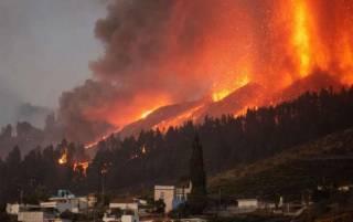 Вулкан на Канарах уничтожил более 160 домов