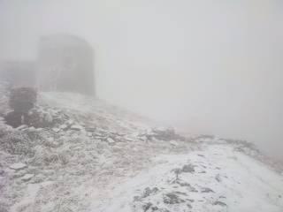 В Карпатах уже начался снегопад