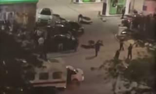 Появилось видео эпичной драки в Крыму