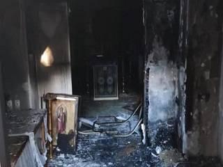 На Одесчине подожгли строящийся храм УПЦ