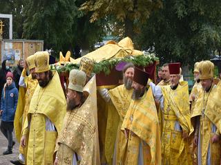 В Чернигове верующие УПЦ отпраздновали 125-летие канонизации святителя Феодосия Черниговского