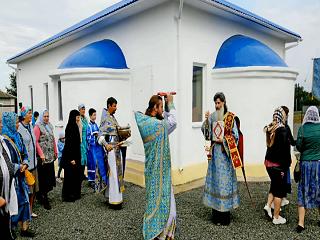На Донетчине освятили новый храм УПЦ