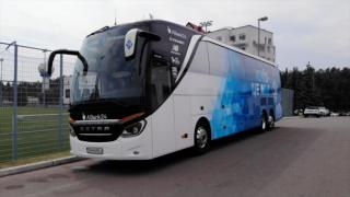 На ходу умер водитель автобуса «Динамо», везший команду во Львов