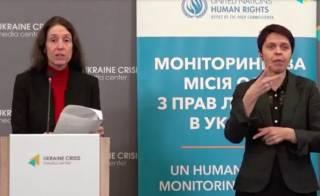 ООН об Украине: Здесь травят за русский язык, закрывают неугодные СМИ и стреляют по школам