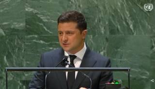 «Никто не чувствует себя в безопасности»: полный текст выступления Зеленского на Генассамблее ООН