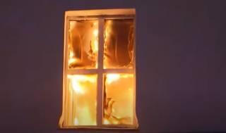 Опубликовано видео эпичного пожара в Москве