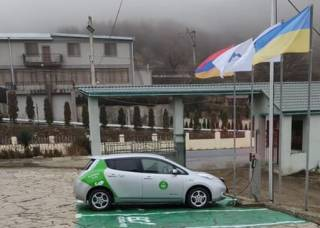 Количество электрозаправок в Армении от армян Украины близится к 30