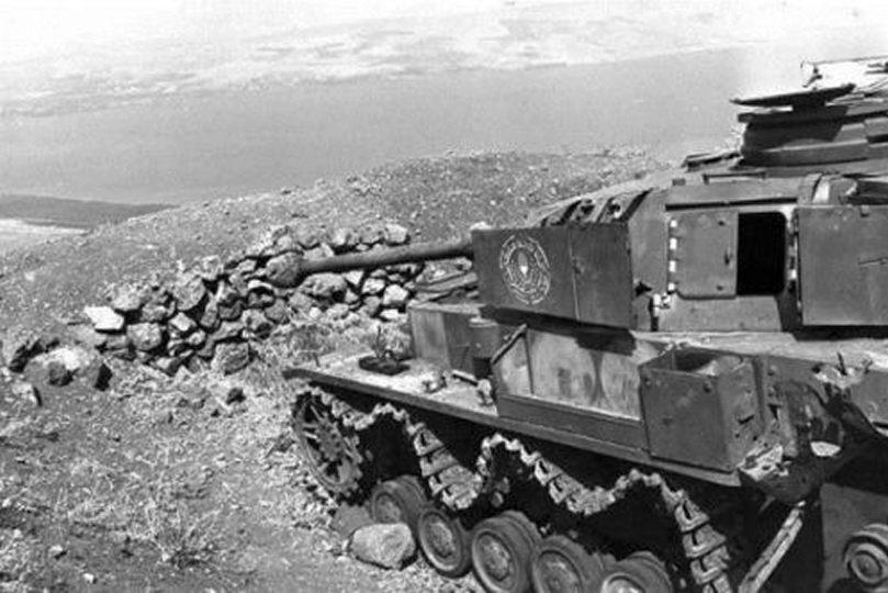 Panzer IV, подбитый экипажем «Центуриона» в ходе «Войны за воду»
