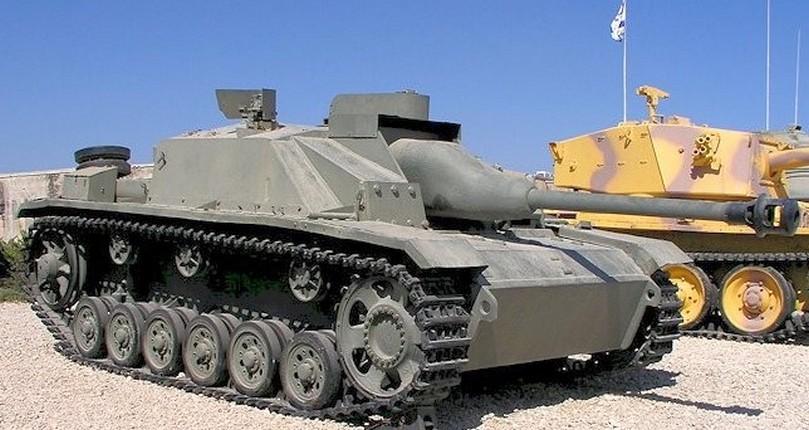 StuG III в израильском музее