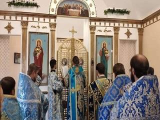 В Днепропетровской области освятили новый храм УПЦ