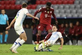 Лига чемпионов: «Динамо» разгромно проиграло в Мюнхене