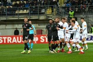«Заря» потерпела второе поражение в Лиге конференций
