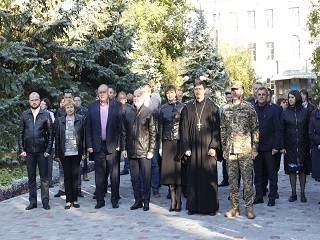 На Херсонщине и Полтавщине священники УПЦ благословили призывников на прохождение военной службы в ВСУ