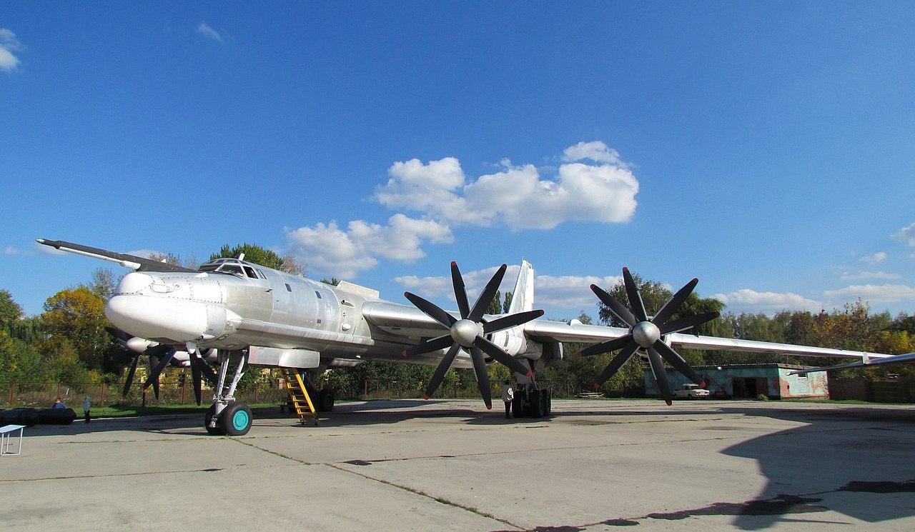 Ту-95МС в Полтавском музее авиации