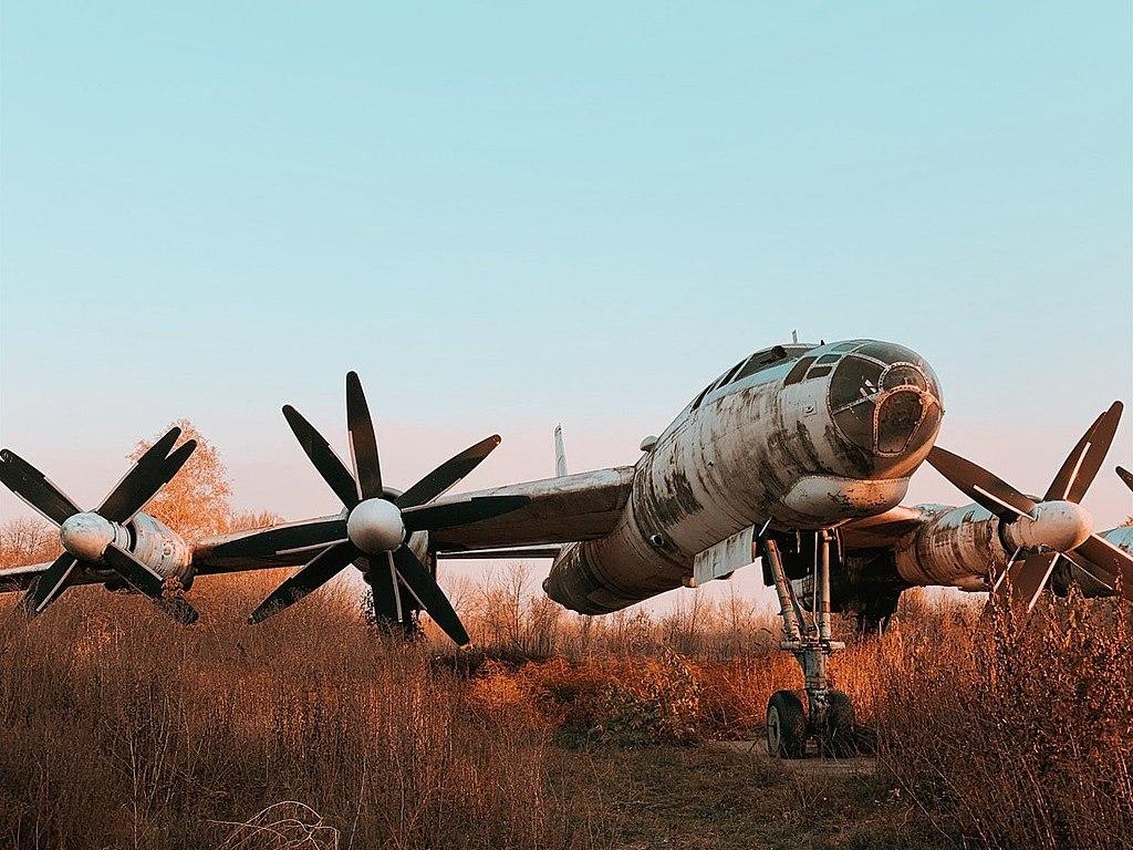 Ту-95У в Узине