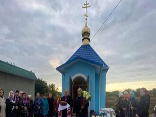 На Днепропетровщине освящен храм УПЦ в память о погибших в 1943 году при форсировании Днепра