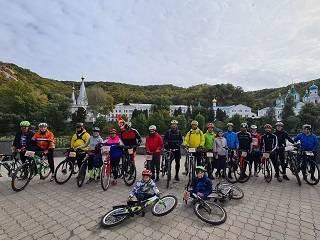 Велопаломники УПЦ за 7 дней преодолели 700 км из Киева до Святогорской лавры