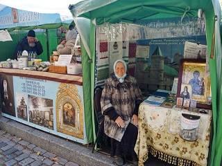 В Киево-Печерской лавре до 17 октября проходит выставка-ярмарка «Покровская»