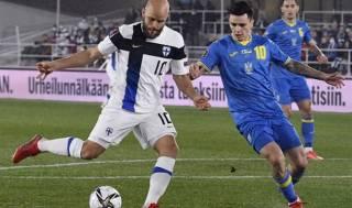 Отбор на ЧМ-2022: Украина одержала тяжелейшую победу над Финляндией