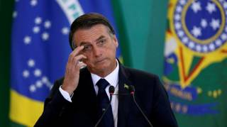 Президент Бразилии «вляпался» в очередной скандал