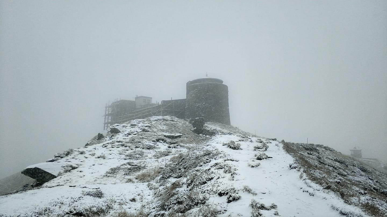 Гора Поп Иван в Карпатах