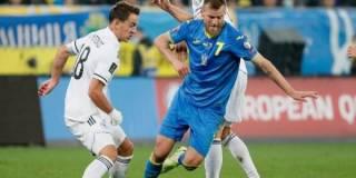 Сборная Украины по футболу усложнила себе задачу выхода на ЧМ-2022