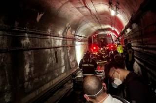 В Вашингтоне произошло крушение поезда метро