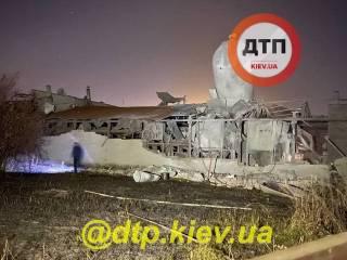 Под Киевом прогремел мощный взрыв на заводе