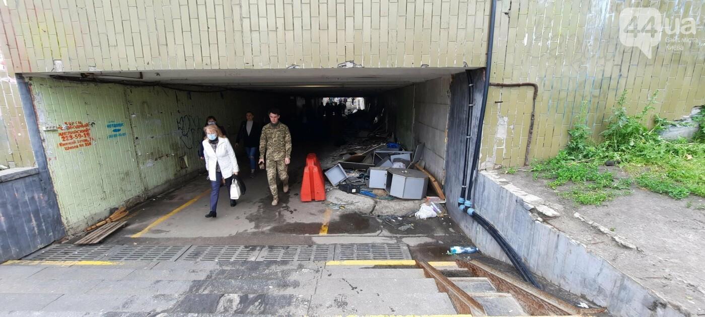 строительства торгового центра вблизи станции метро «Осокорки»