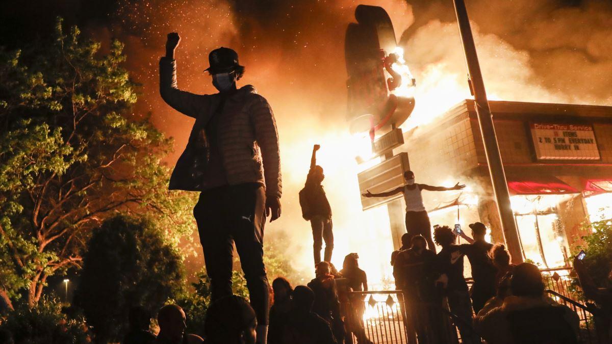 США протесты 2020