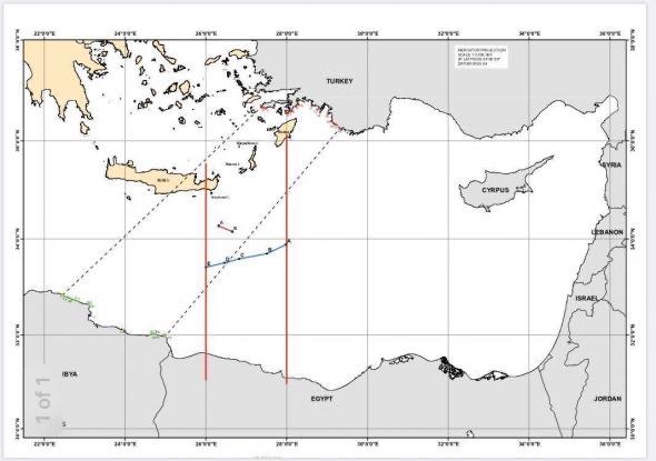 «Адский крест» в Восточном Средиземноморье